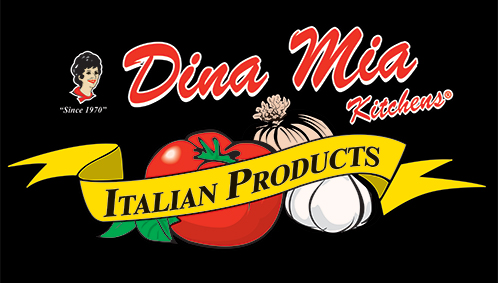 Dina Mia Kitchens home of the best pizza sasuage and our sister company.
